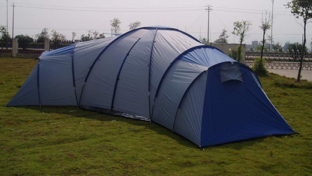 Huge Camping Living Tent 3 Bedroom Tent With Living Room