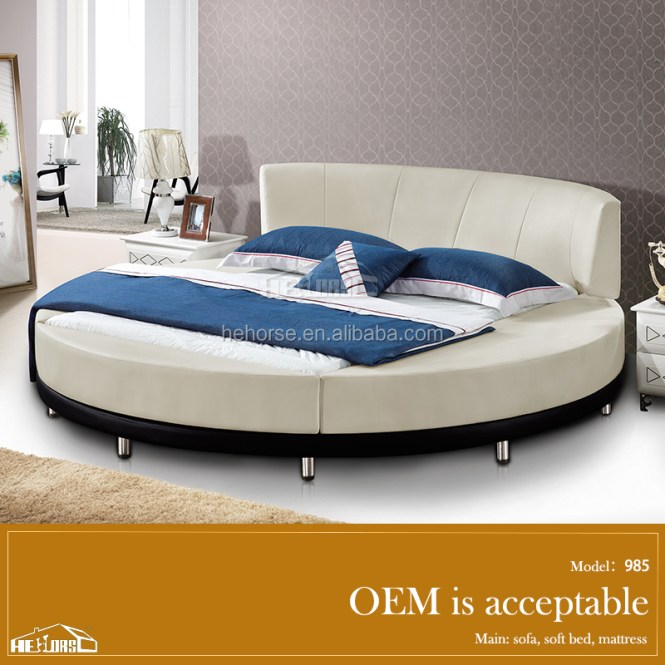 Bedroom Round Bed In India King Size Leather On 985 Product