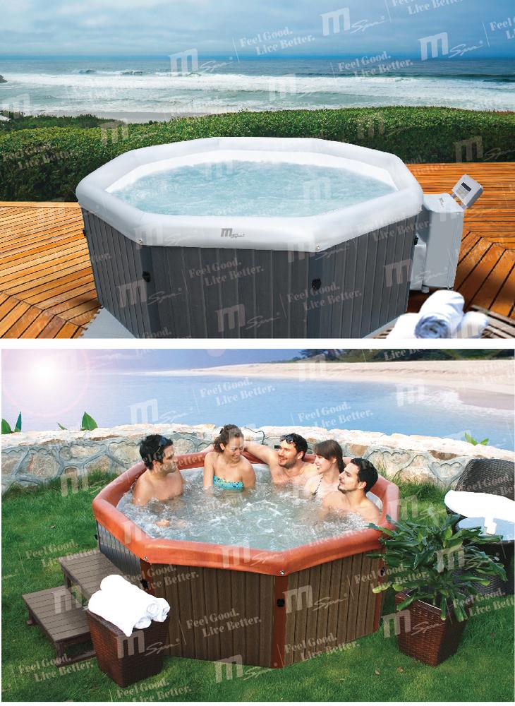 Freestanding Spa Pool Bathtub Portable Spa Tub Tuscany