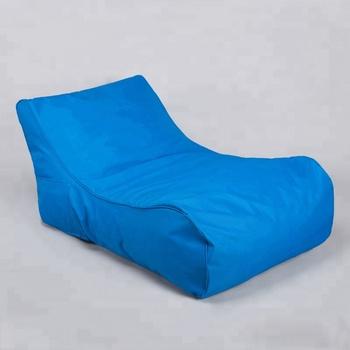 sofa lounger outdoor brands international sold visi foam waterproof bean bag bed compressed shredded chair floor beach swimming