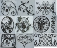 Decorative Wrought Iron Ornaments Grapes Vines - Buy ...