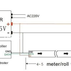 5050 Led Strip Wiring Diagram Car Towing Super Dense Smd Rgb 144 Ws2812 Light Wholesale