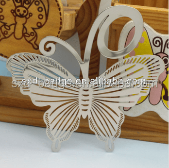 metal contracted personalized butterfly