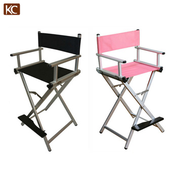 aluminum directors chair phil and teds high lobster new design used cheap wood tall folding director metal frame