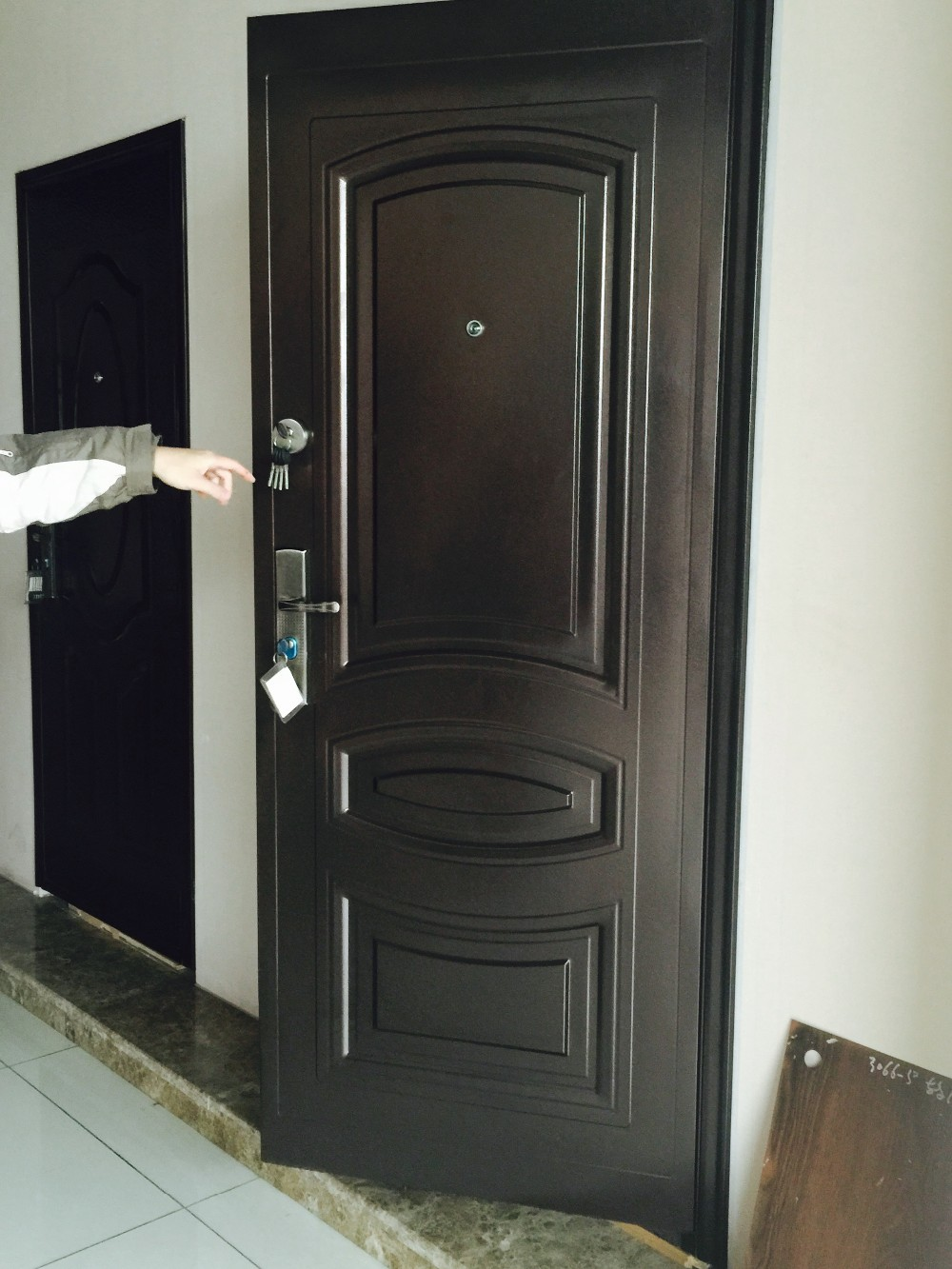 Cheap China Door Ghana Exterior Door Ghana Entry Steel