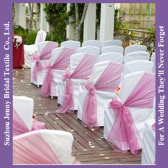 Decorative Chair Covers Wedding Fishing Lawn C425a Red Organza Wingback Slipcovers Tie Back Wholesale China