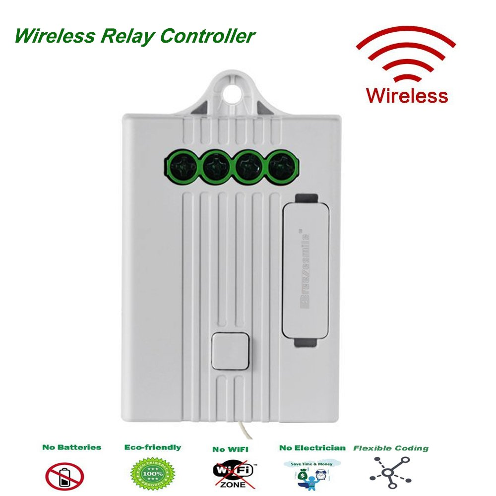 medium resolution of breezesmile remote relay controller simple wired in 4 wire receiver compatible with wireless light