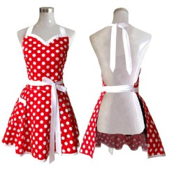Cute Kitchen Aprons Epoxy Commercial Flooring Woman Girl Cotton Cooking Apron Buy Girls Little Sexy