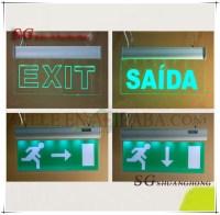 exit indicator lamp exit lights illuminated exit signs ...