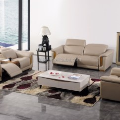 Electric Sofa Set Wooden Chair Photo Italian Leather 1 2 3 Recliner Buy