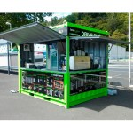 Pop Up Mobile Mini Shipping Container Marekting Prefabricated Restaurant Shop Street Food Kiosk Container 10ft For Sale Buy Shipping Container Marekting Street Food Kiosk Kiosk Container 10ft Product On Alibaba Com