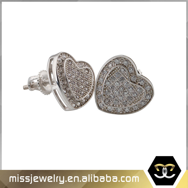 Cheap Wholesale 925 Sterling Silver Cubic Zirconia Gold