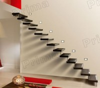 Modern Solid Wood Floating Stairs With High Quality - Buy ...