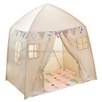 Cotton Canvas Fabric Kids Play Tent House - Buy Play House ...