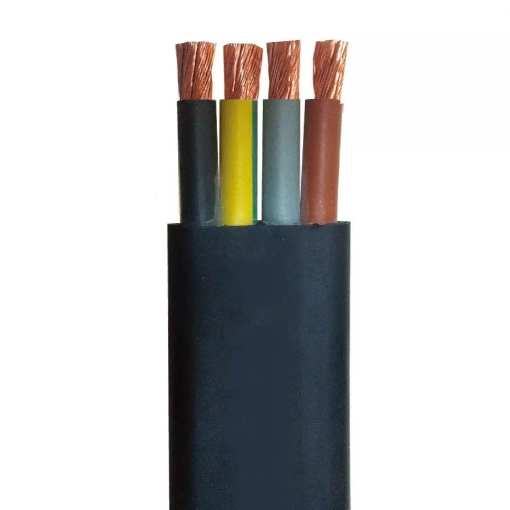 hight resolution of rhw 2 pvc 3 core flat cables tough submersible pump cable