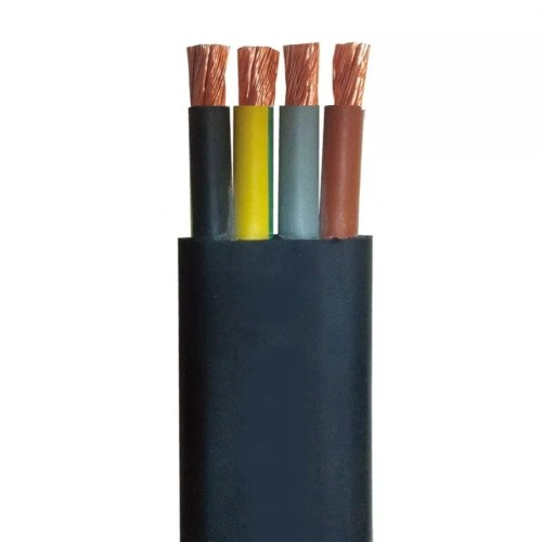 small resolution of rhw 2 pvc 3 core flat cables tough submersible pump cable