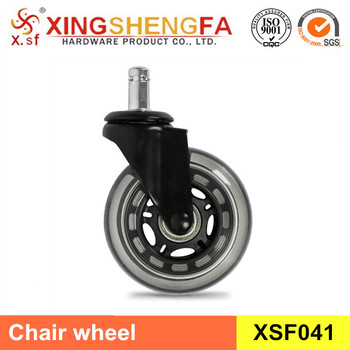 office chair rollerblade wheels king tuts 5 pack black caster wheel soft casters ball bearing