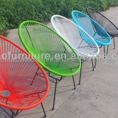 Patio String Chair Bentwood Thonet Chairs For Sale Garden Furniture Outdoor Egg Buy