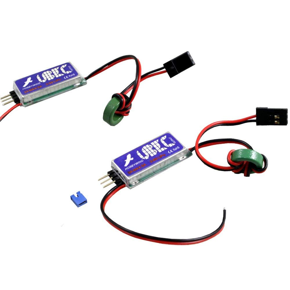 hight resolution of get quotations 2 pieces hobbywing 5v 6v 3a switch mode ubec for rc