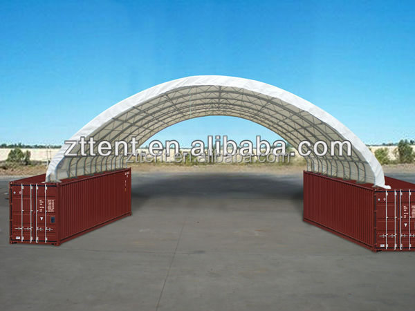 Metal Frame Supported Tensile Structure Canopy For Entrance Canopy
