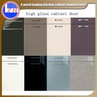 High gloss front door designs acrylic door for kitchen ...