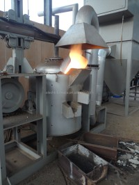 Small Dc Electric Arc Furnace (eaf) For Cast-iron Scrap ...