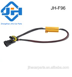 h11 led fog load resistor hid drl lamp decoder adapter canbus wire harness [ 1000 x 1000 Pixel ]