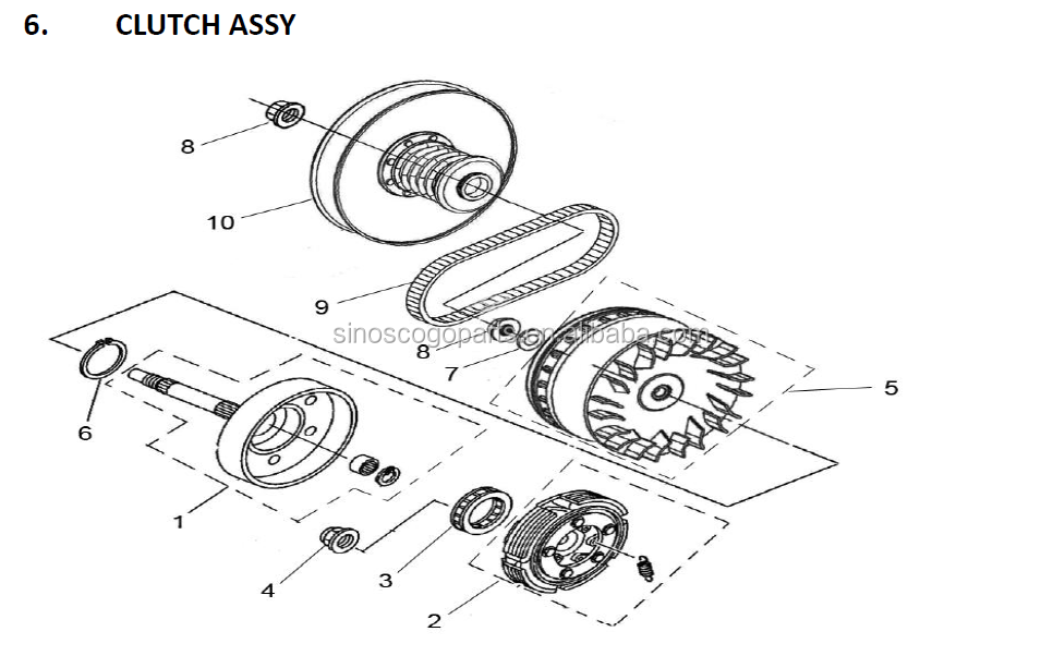 01 500 sportsman transmission parts diagram