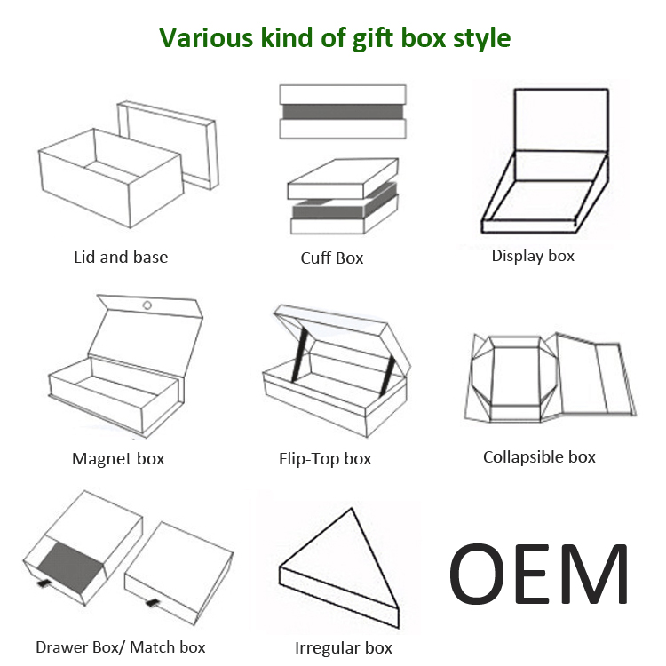 Bestyle Custom Empty Magnet Packaging Boxes For Hair