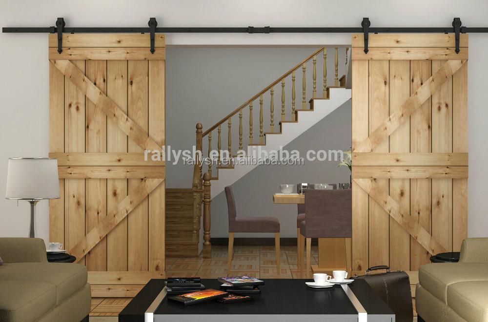 American Stil Top Schiebetüren Holz Scheunentor-Tür- Und