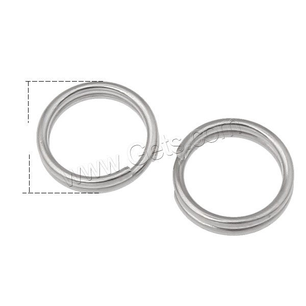 Stainless Steel Key Split Ring Different Size For Choice