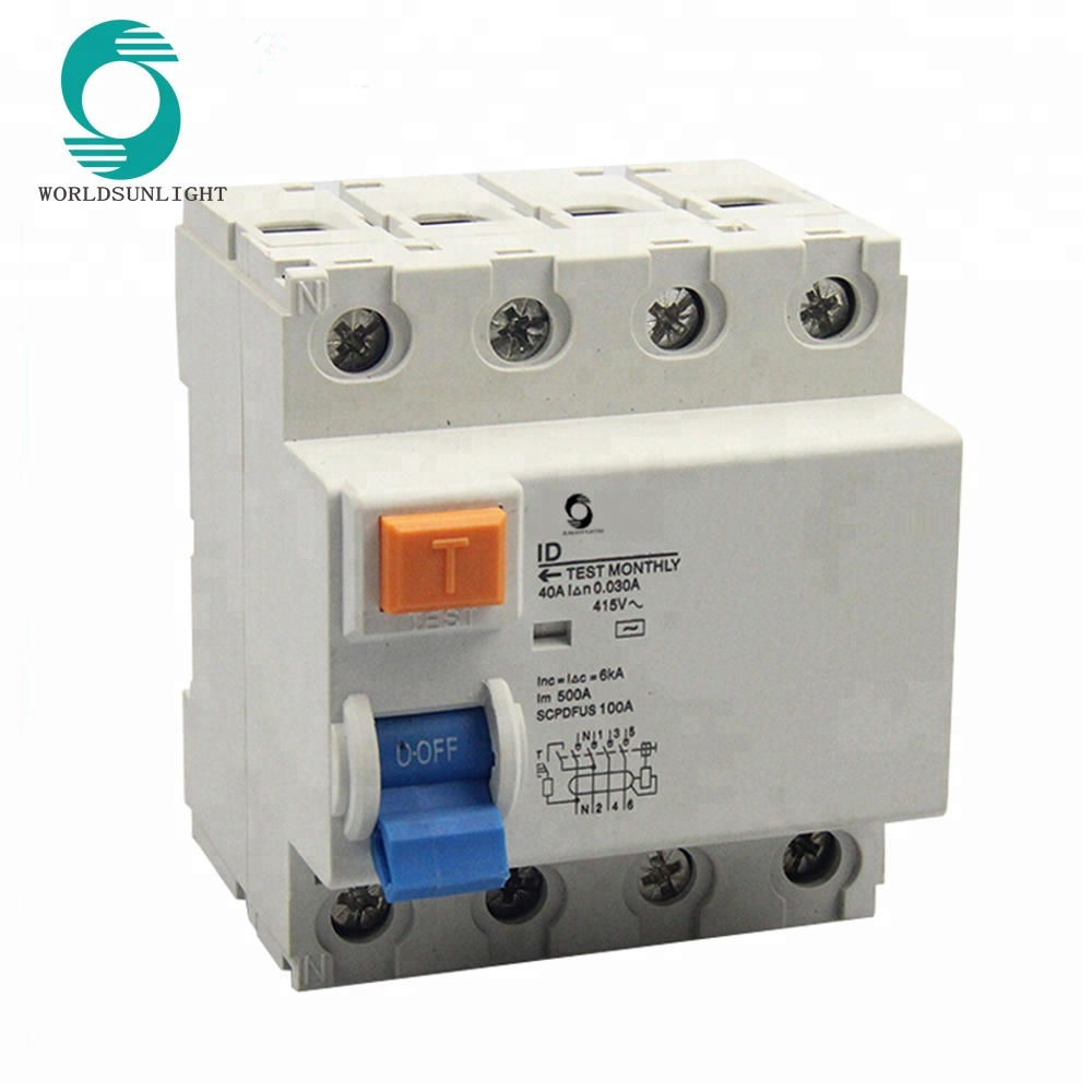 hight resolution of xid 415v 4p 40a 30ma earth leakage circuit breaker elcb