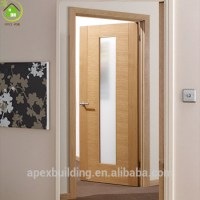 Office Door Oak Wooden Door Design With Glass - Buy Door ...