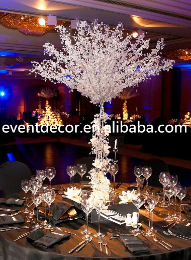 Wholesale Decorative Crystal Tree For Table Centerpiece