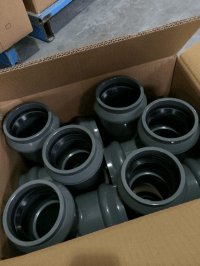 High Quality Pvc Pipe Fitting With Rubber Ring - Buy Pvc ...