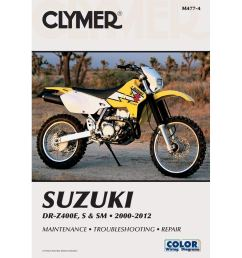 get quotations 00 14 suzuki drz400s clymer service manual misc  [ 1000 x 1000 Pixel ]