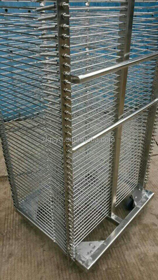 Stainless Steel Industrial Drying Rack For Screen Printing