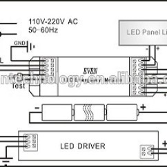 12v Led Downlight Wiring Diagram Electric Guitar Diagrams And Schematics Universal Emergency Backup Kits Applicable For All Of Lights Ac 220v Or Dc 230v Output ...