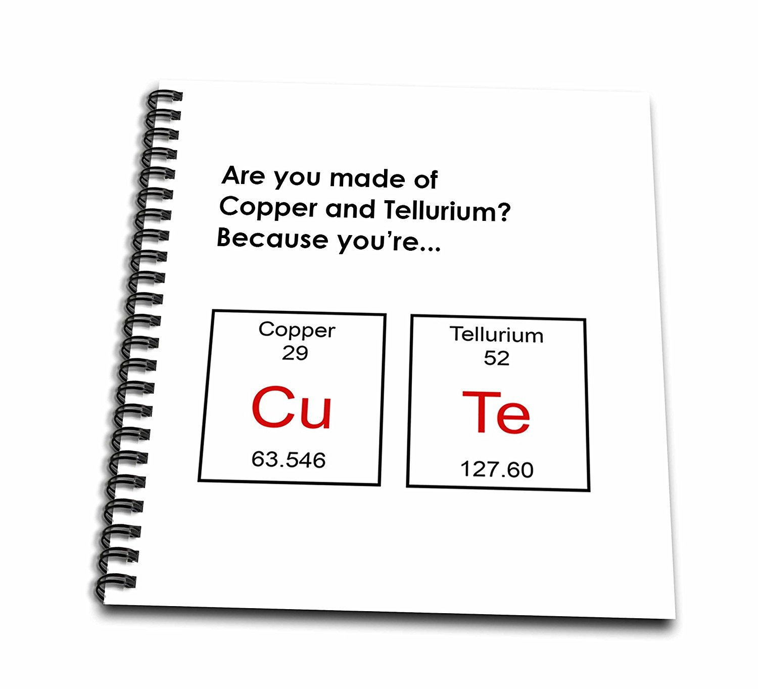 Buy 3dRose Are You Made of Copper & Tellurium Because