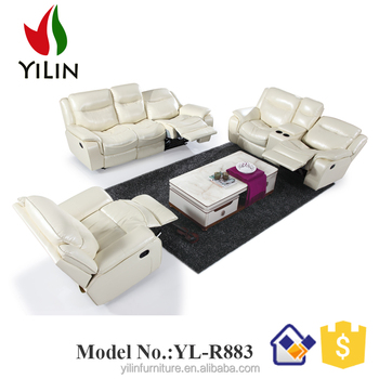 home theater reclining sectional sofa small white leather corner uk yilin furniture cinema buy