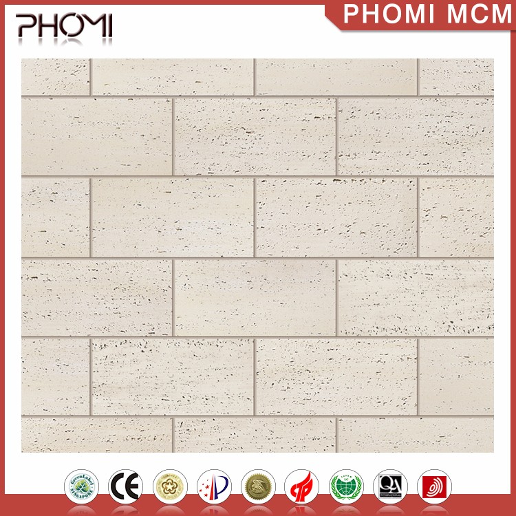 Flexible Clay Guangzhou Tiles Imitation Travertine Tile