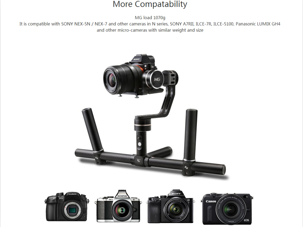 Handheld Video Steadicam Photography Stabilizer Gimbal For