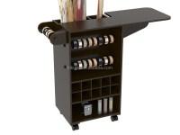 Wooden Diy Craft Wooden Storage Cabinet Cart With Wheels ...