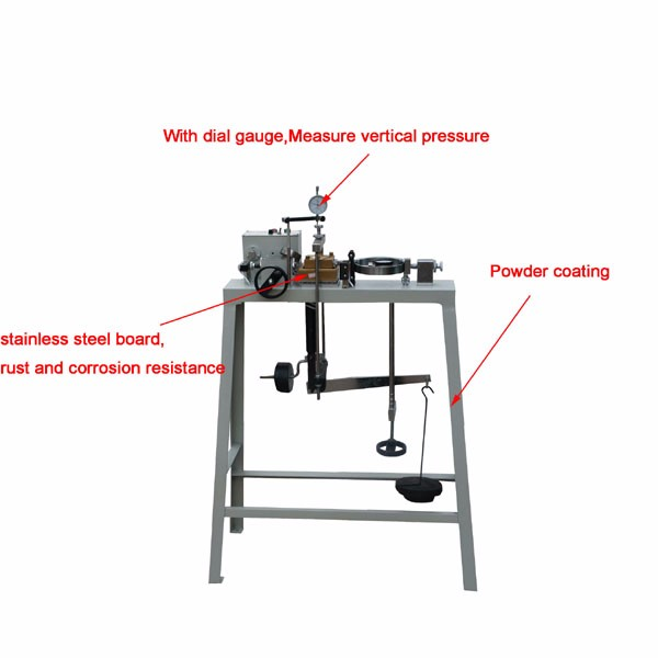 Edj-1 Electric Strain Direct Shear Testing Apparatus/soil
