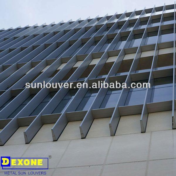 Aluminum Box Louver Panel For Building Facade Buy Foshan