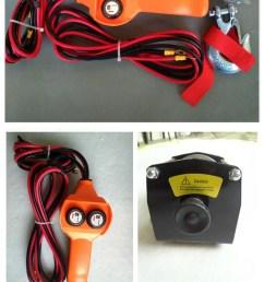 small portable atv electric 12 volt winch [ 750 x 1837 Pixel ]