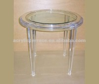 Unique Cheap Clear Acrylic Lucite Side Tables Or Coffee ...