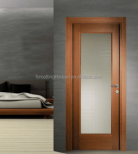 Glass Panel Interior Doors Wooden