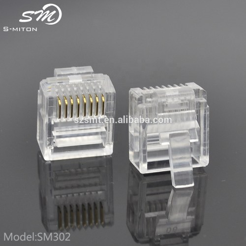 small resolution of good quality networking wire crystal head rj45 8p8c modular plugs