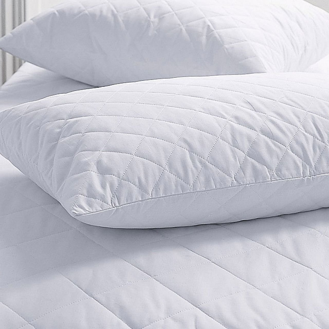 china manufacturer fabric diamond pattern quilted pillow protector cover from factory buy quilted pillow cover pillow protector quilted pillow cover